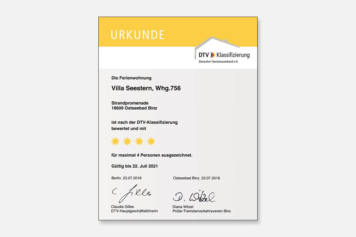 Ruegen-Binz-Ferienwohnungen-SV756-11-DTV-Urkunde